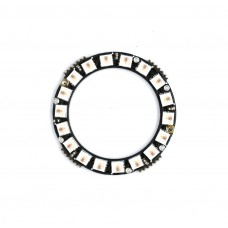 RainbowPixel Nano Ring - 18 x WS2812 2427 RGB/W LED with Integrated Drivers