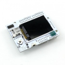 "Duinopeak 1.8"" COLOR TFT SHIELD W/MICROSD AND JOYSTICK"