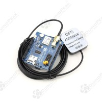 Duinopeak NEO-6M GPS Shield for Arduino with GPS Antenna New version