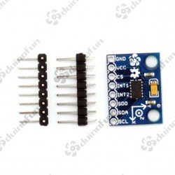 ADXL345 Breakout  3-Axis Digital Acceleration of Gravity Tilt IIC/SPI MCU Arduino