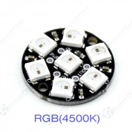 WS2812 Jewel - 7 x WS2812 5050 RGB/RGBW LED with Integrated Drivers