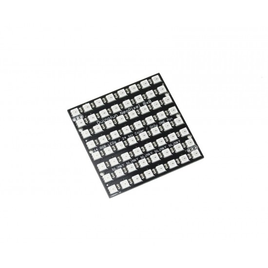 Duinopeak Smart RGB LED Matrix Panel 8x8 64 WS2812 LED Pixel Single Pin Control