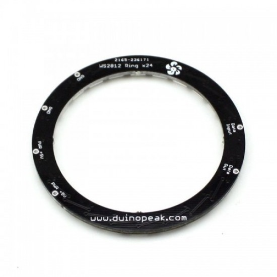 RainbowPixel Ring - 24 x WS2812 5050 RGB/RGBW LED with Integrated Drivers