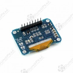 OLED BREAKOUT BOARD White - 12864 IIC/SPI interface Arduino Compatible