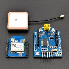 uBlox NEO-6m GPSBee kit with active GPS antenna and xBee adapter